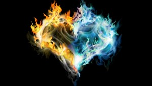 golden-blue-fire-heart